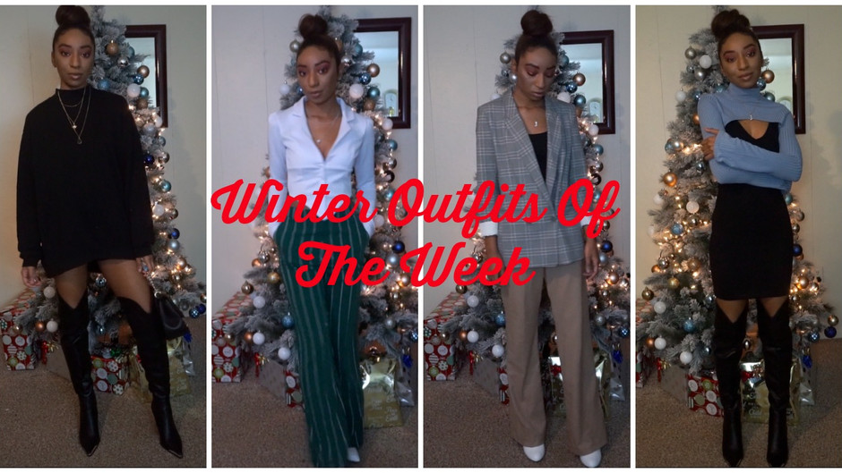 Outfits of The Week | Winter Edit