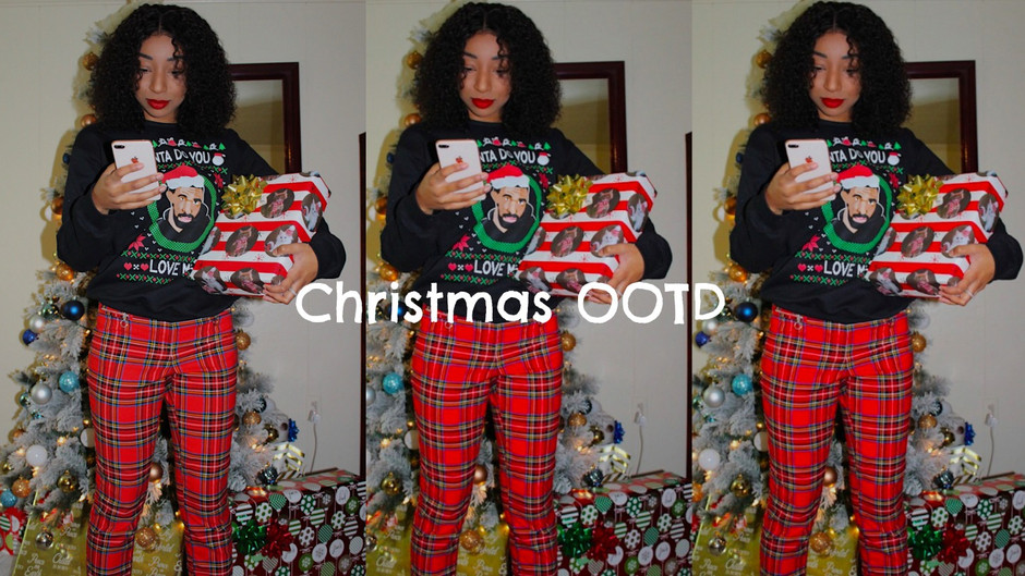 Merry Christmas Check Out My OOTD!