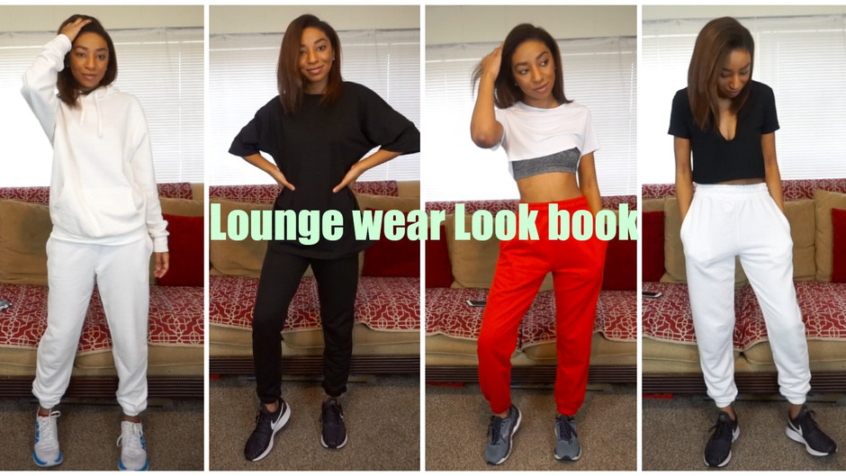 Comfy Lounge Wear Look book