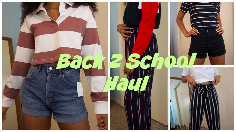 Back To School Try On Haul
