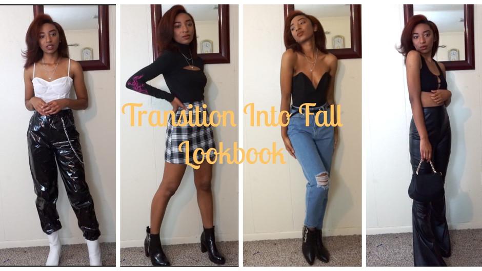 Transition Into Fall Lookbook