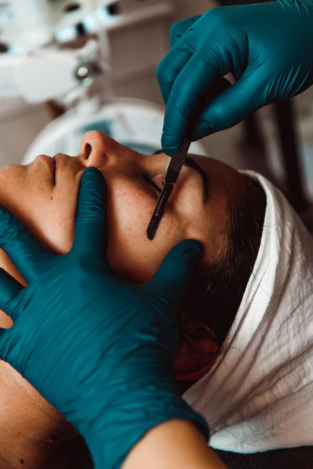 Dermaplane Facial