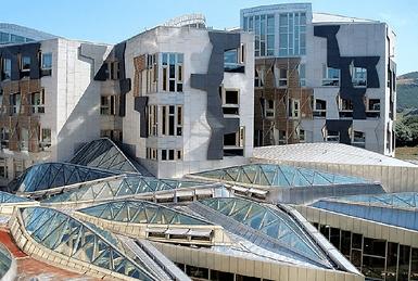 The-Scottish-Parliament-Building-Edinbur