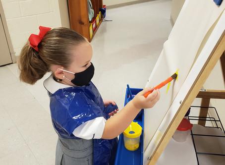 Practical life in the Montessori Studio