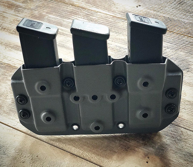 Tripple Mag Holster Glock 9mm Double Stack