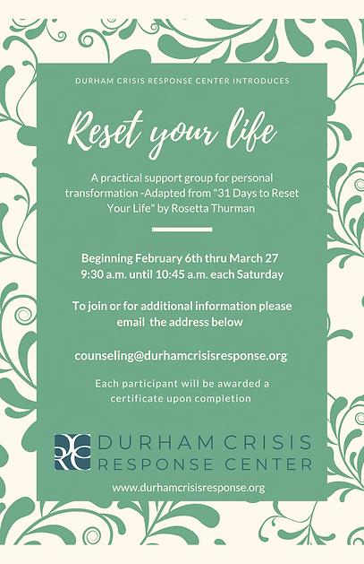 Durham crisis Response Center presents-2