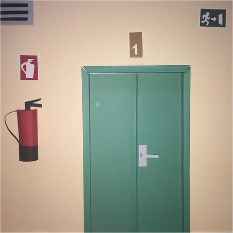 Puerta clase 1C