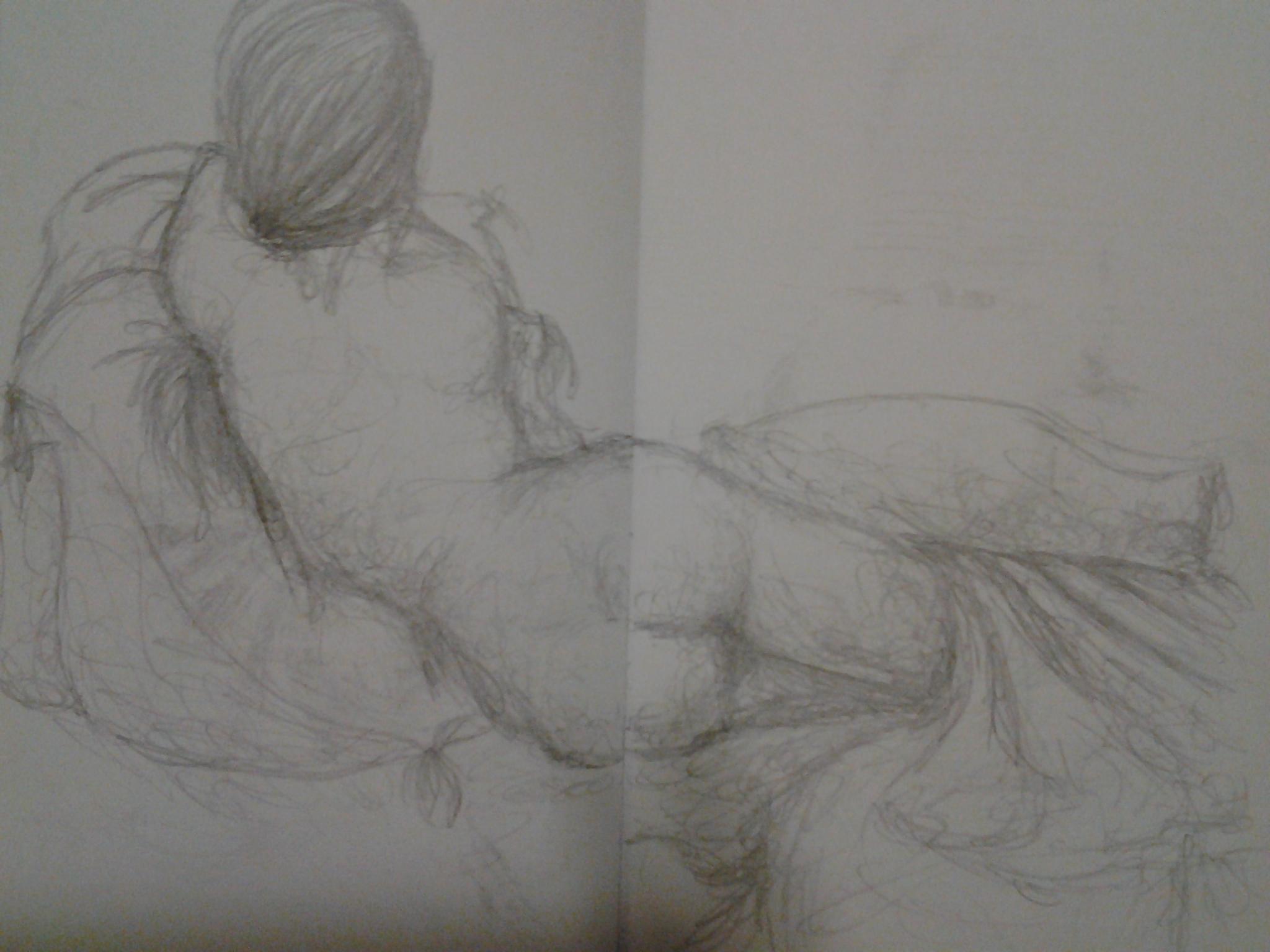 Behind Sketch