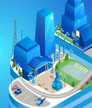 Smarter Spaces----On a scale from Smart Cities to the Intercloud of Things..., how much will your sp