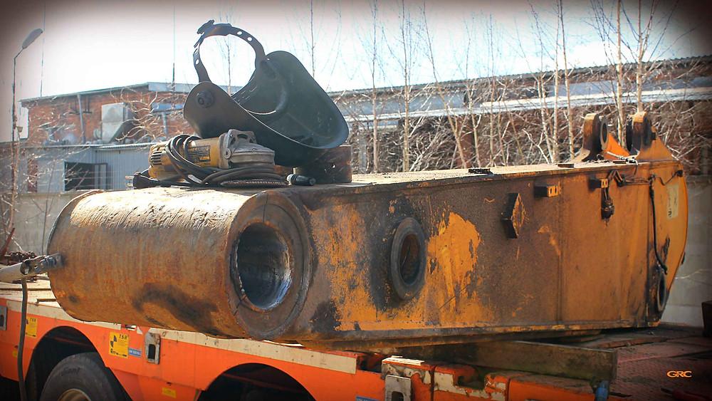 наплавляем металл на внутренний диаметр