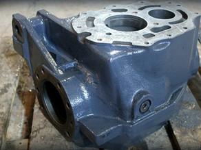 Восстановление корпуса переднего редуктора Toyota 7FВ20