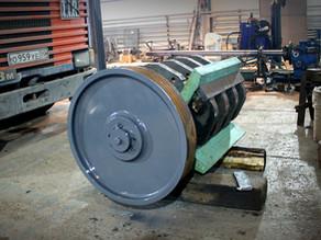 Восстановление ротора дробилки железобетона Rubble Master RM