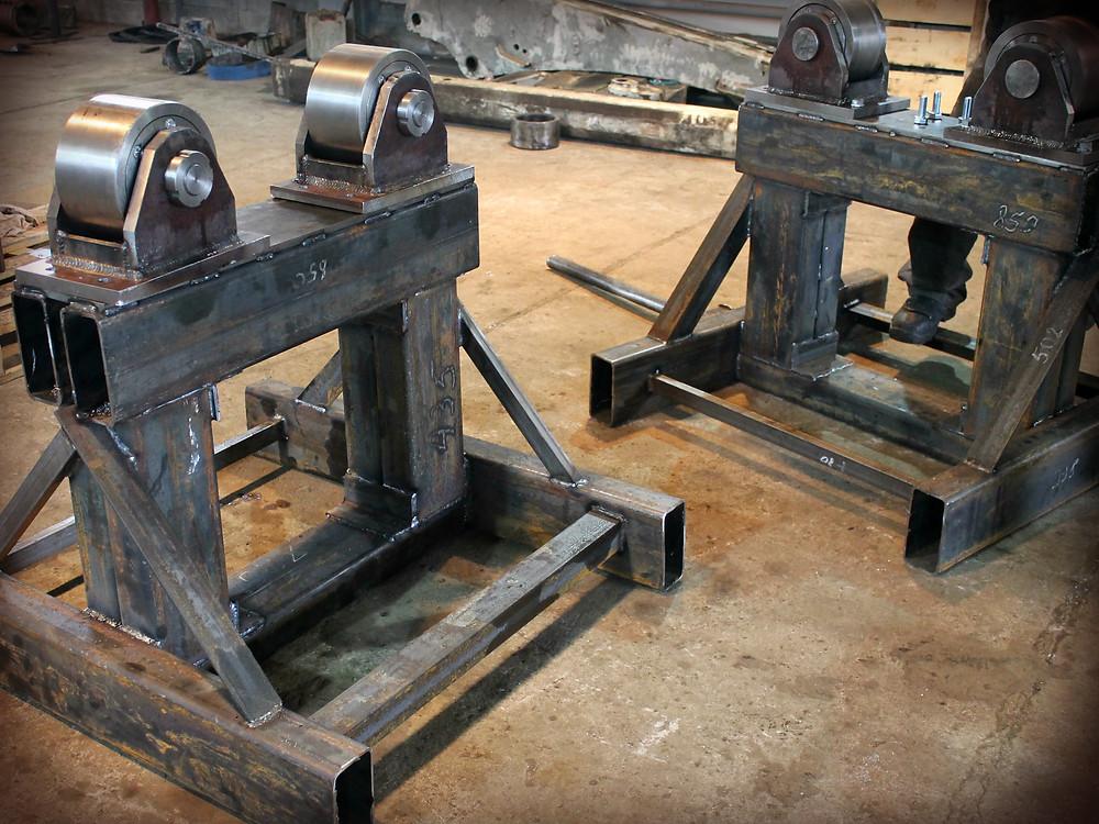 изготовили опоры для шлифовки конуса дробилки Sandvik