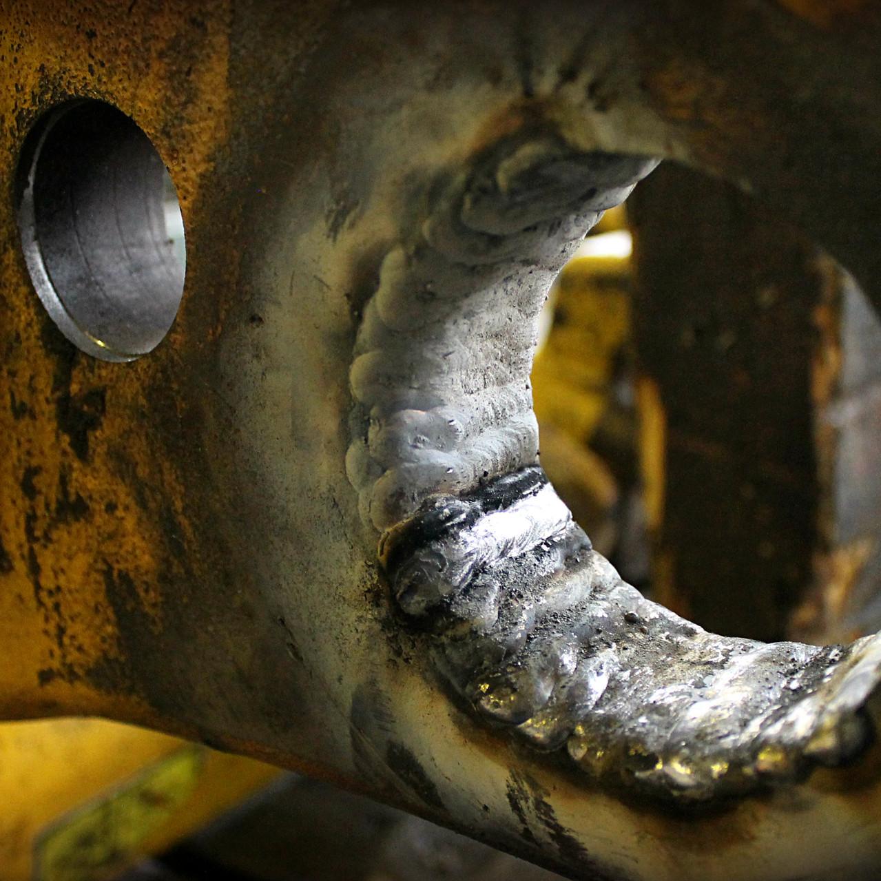 наплавка металла на проушины
