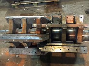 Ремонт и доработка  ротора дробилки для переработки вторсырья