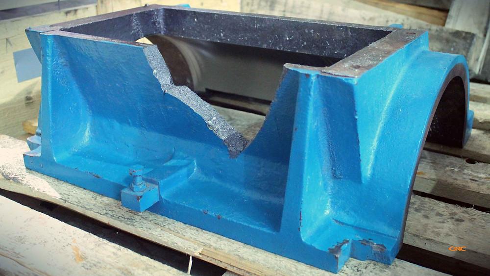 корпус дробилки до ремонта