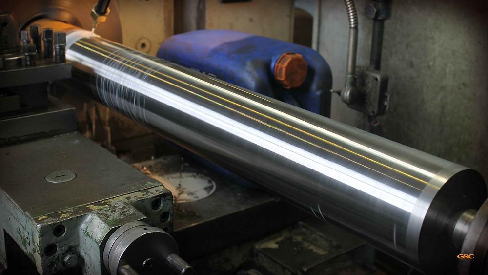 изготавливаем новый вал для дробилки Redoma