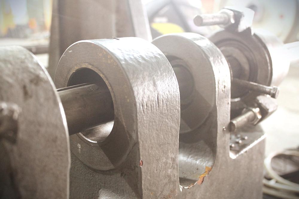 проушины неподвижной плиты до ремонта