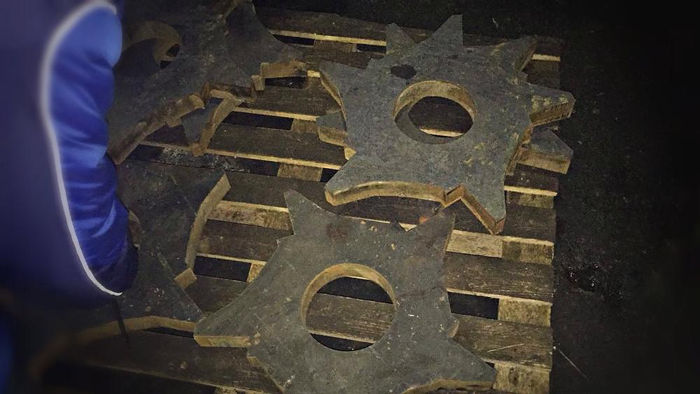 изготовлены биллы для дробилки