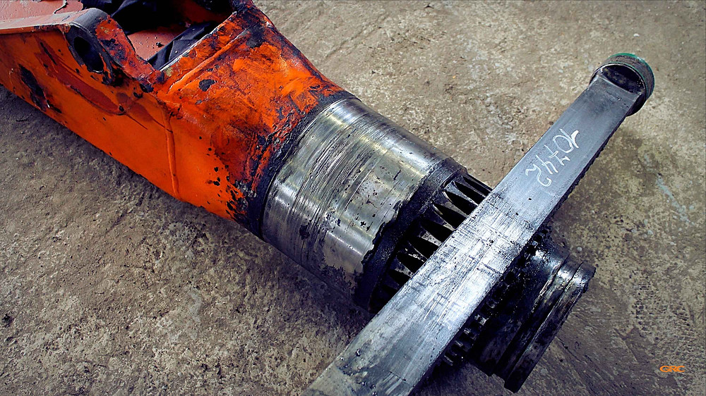 ремонт посадочного места колонны кму