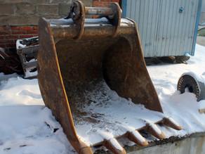 Восстановление проушин ковша экскаватора Hyundai R220LC-9C