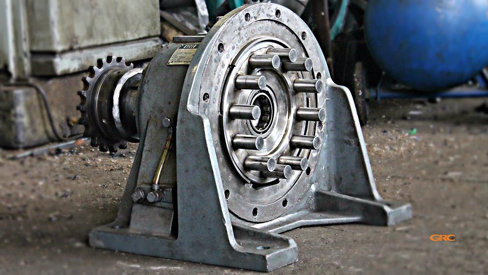 циклоидный редуктор до ремонта