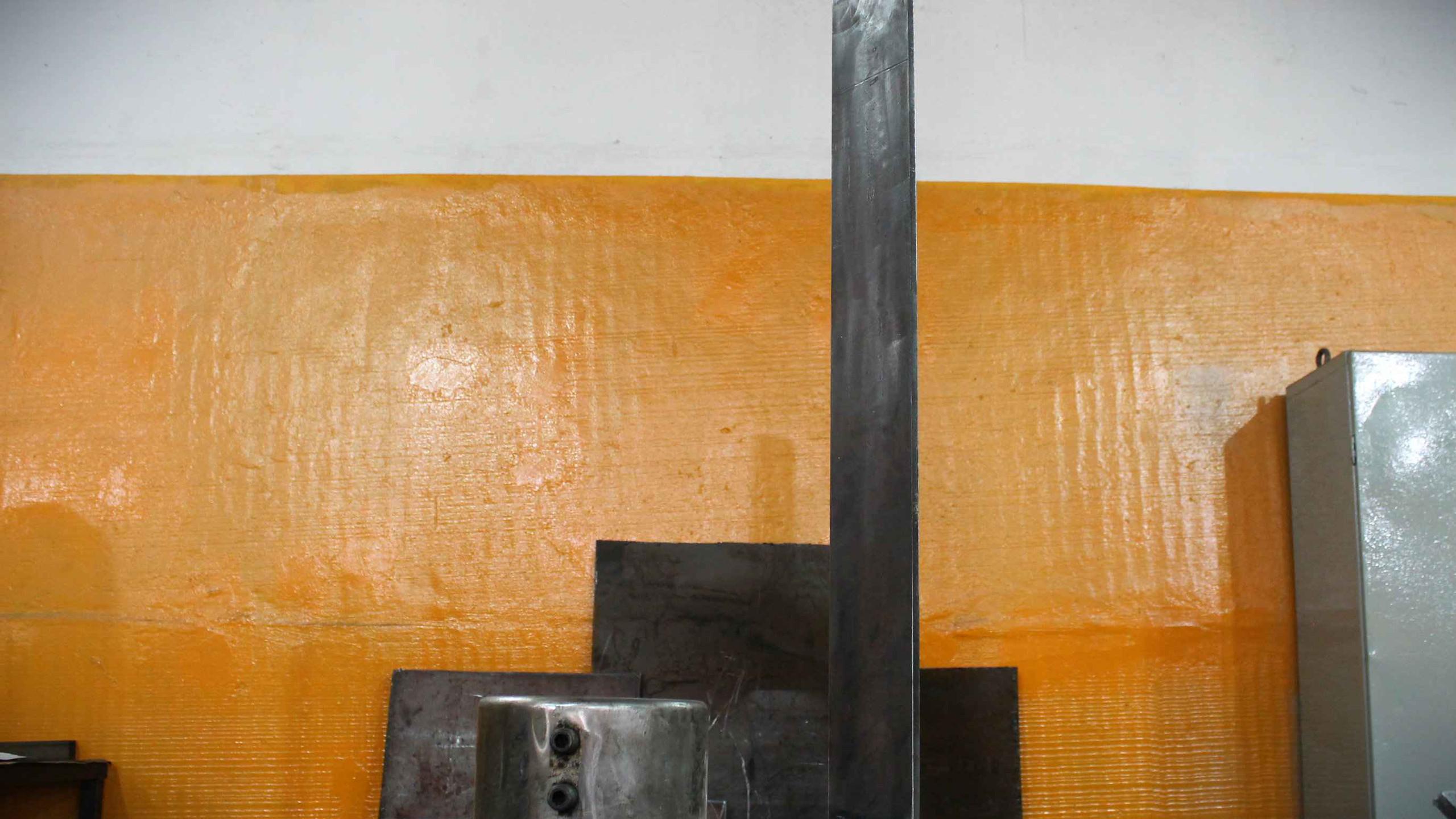 Сборка лопасти на кондуктор миксера