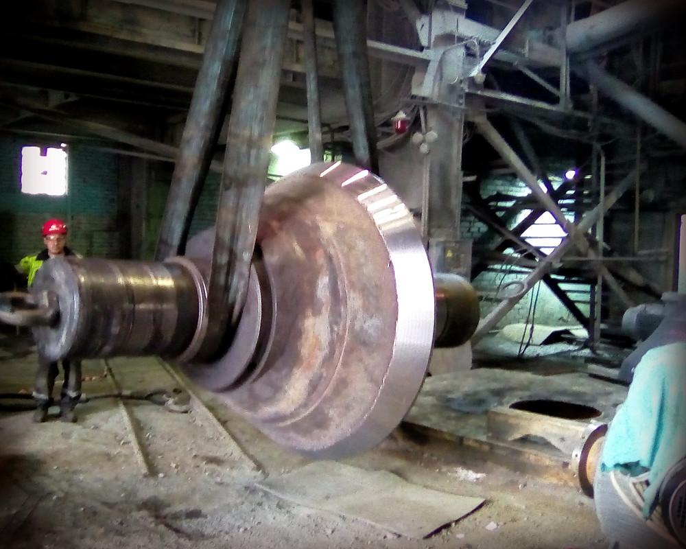 конус дробилки Sandvik после ремонта