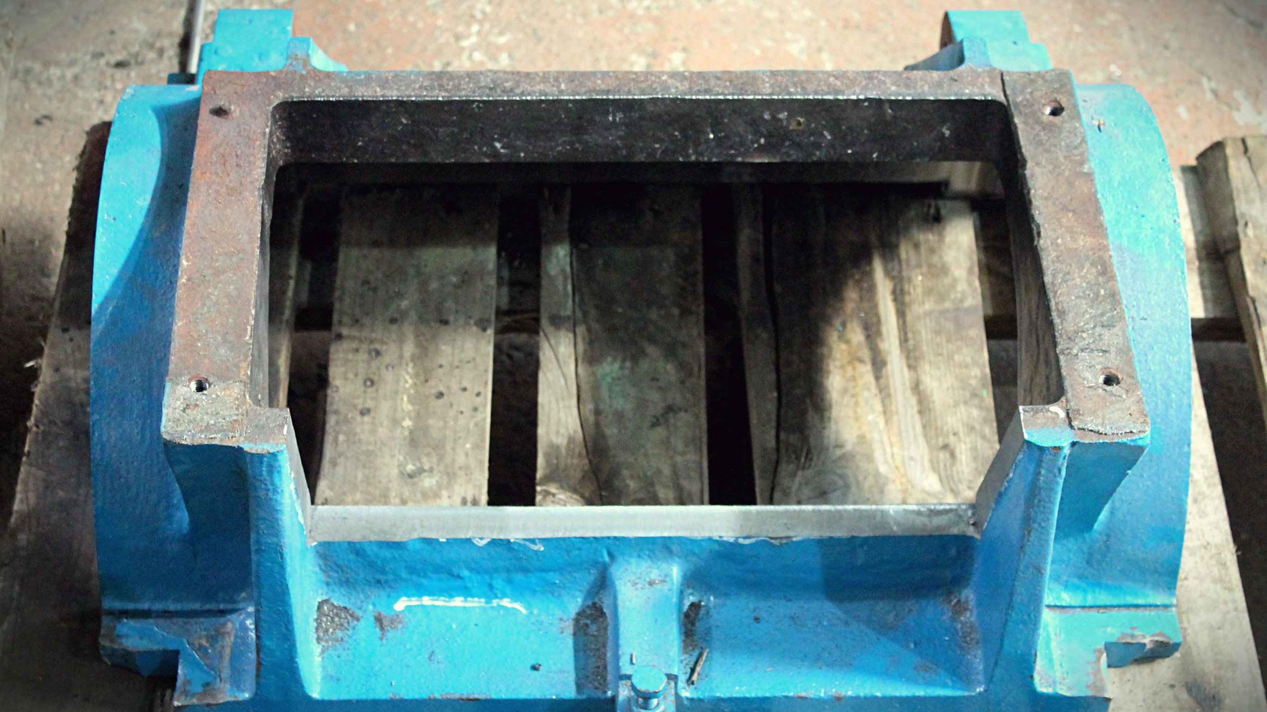 Корпус дробилки после фрезеровки
