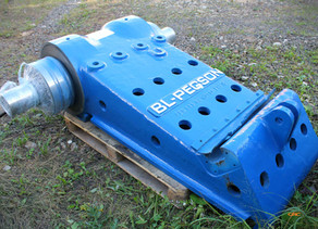 Капитальный ремонт подвижной плиты BL-PEGSON