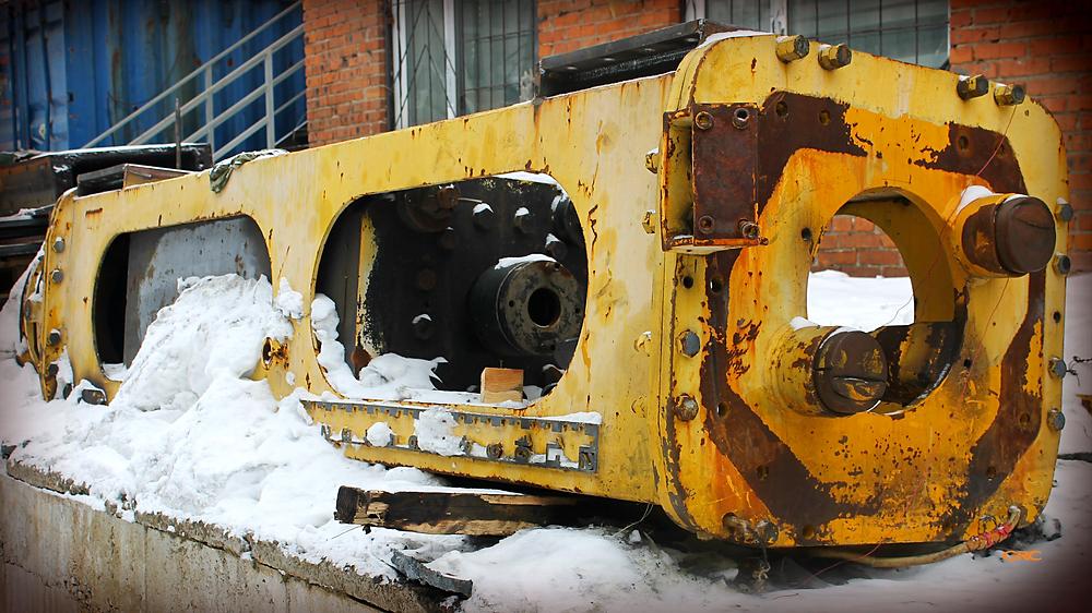 Гидромолот PILEMER DKH-7L  до ремонта