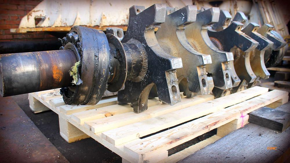 Изготовление вала ротора дробилки