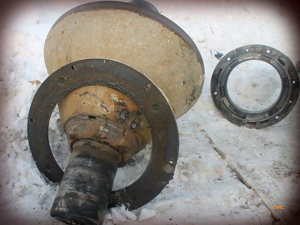 дробящий конус до ремонта