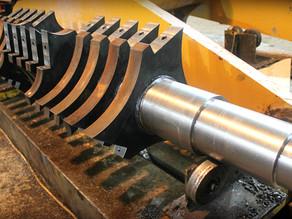 Изготовление ротора дробилки по чертежам заказчика