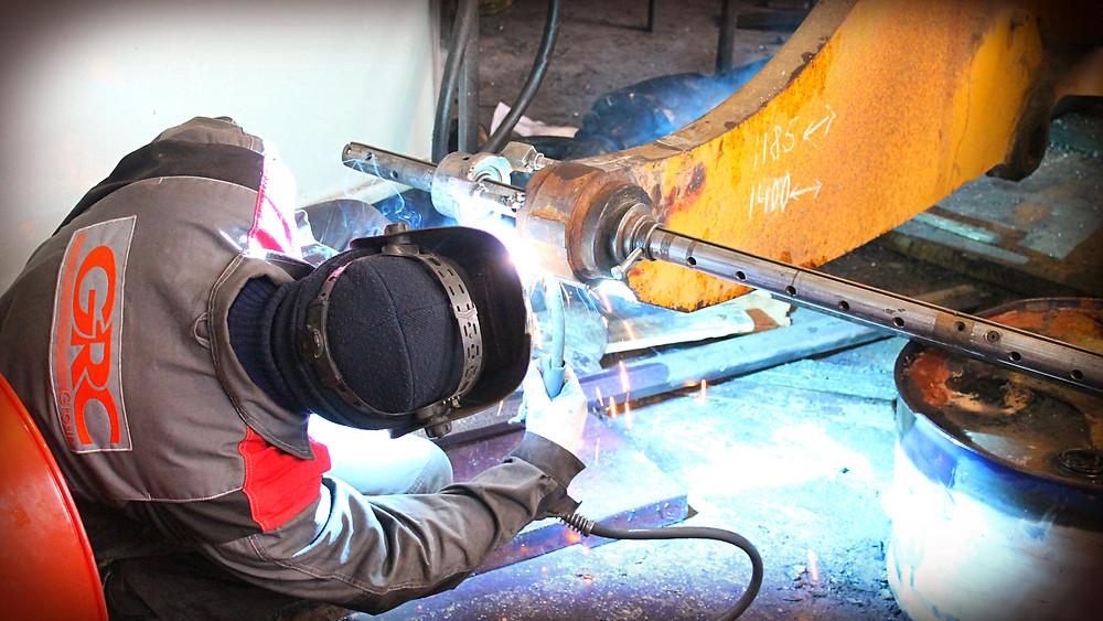 подготовка к расточке мобильным оборудованием