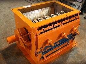 Ремонт корпуса и изготовление футировки дробилки Zerma