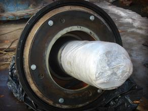 Ремонт шестерни и дробящего конуса LOKOMO G1810