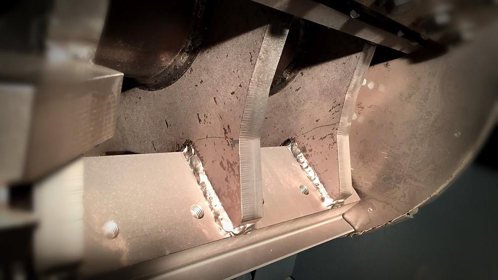 трещина и ремонт дробилки кабеля