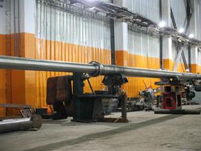 Обработка длинных валов на токарном станке. Наш новый максимум - 19 метров