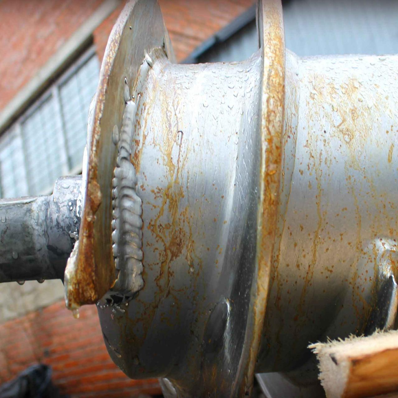Восстанавливаем спирали на шнеке