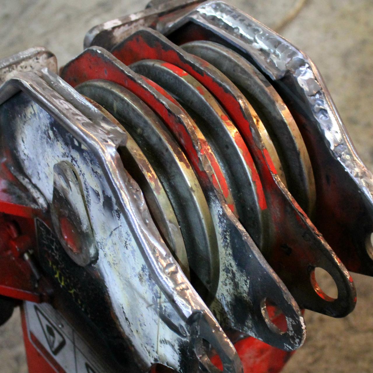 роликовое крепление после ремонта