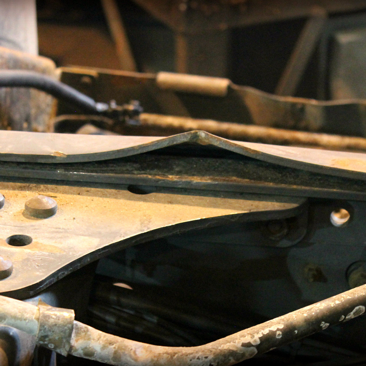 до ремонта рамы тягача
