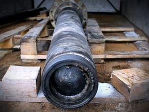 Восстановление витков и скола на шнеке гранулятора