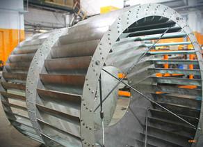 Изготовление крыльчатки от установки Wolf GmbH – 84048