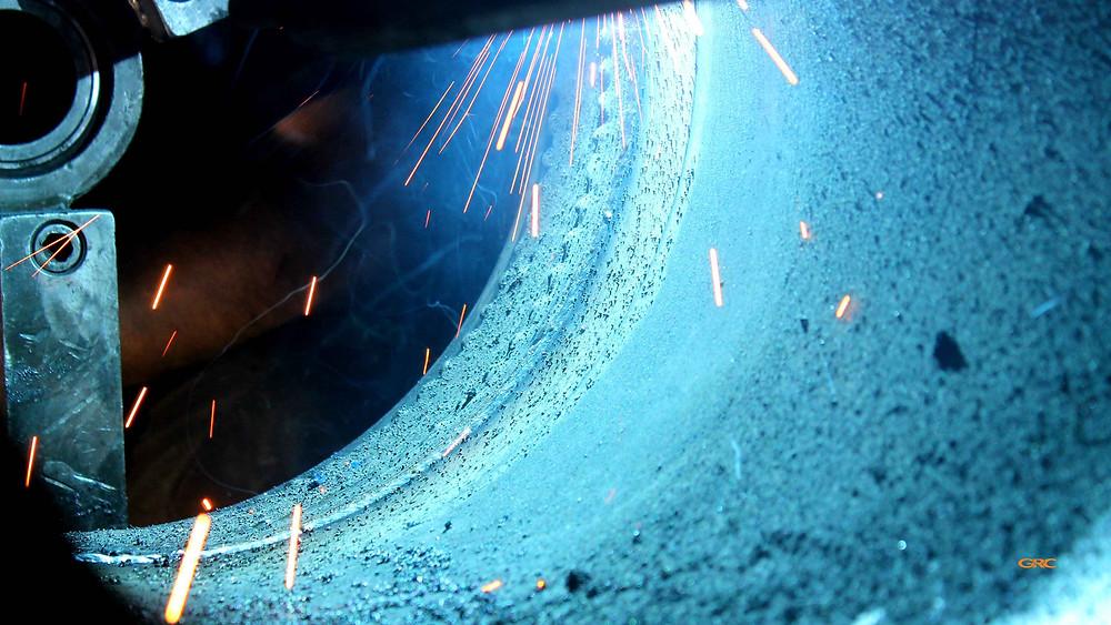 процесс наплавки металла