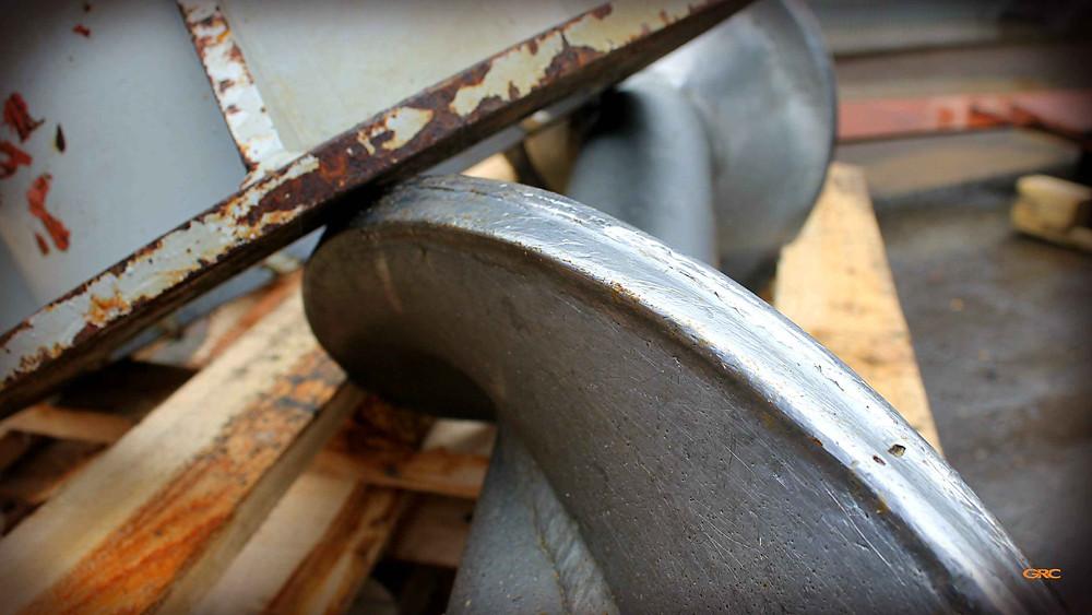 износ спиралей на мясоперерабатывающем шнеке