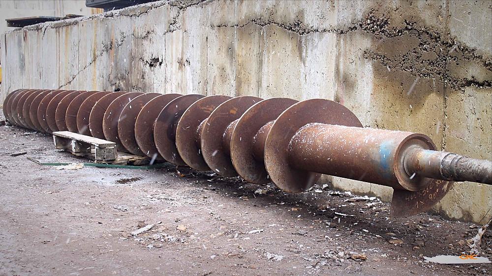 Восстановление посадочных мест шнекового транспортера