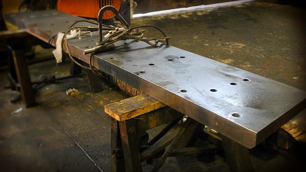 готовая задняя часть боковика пресс ножниц