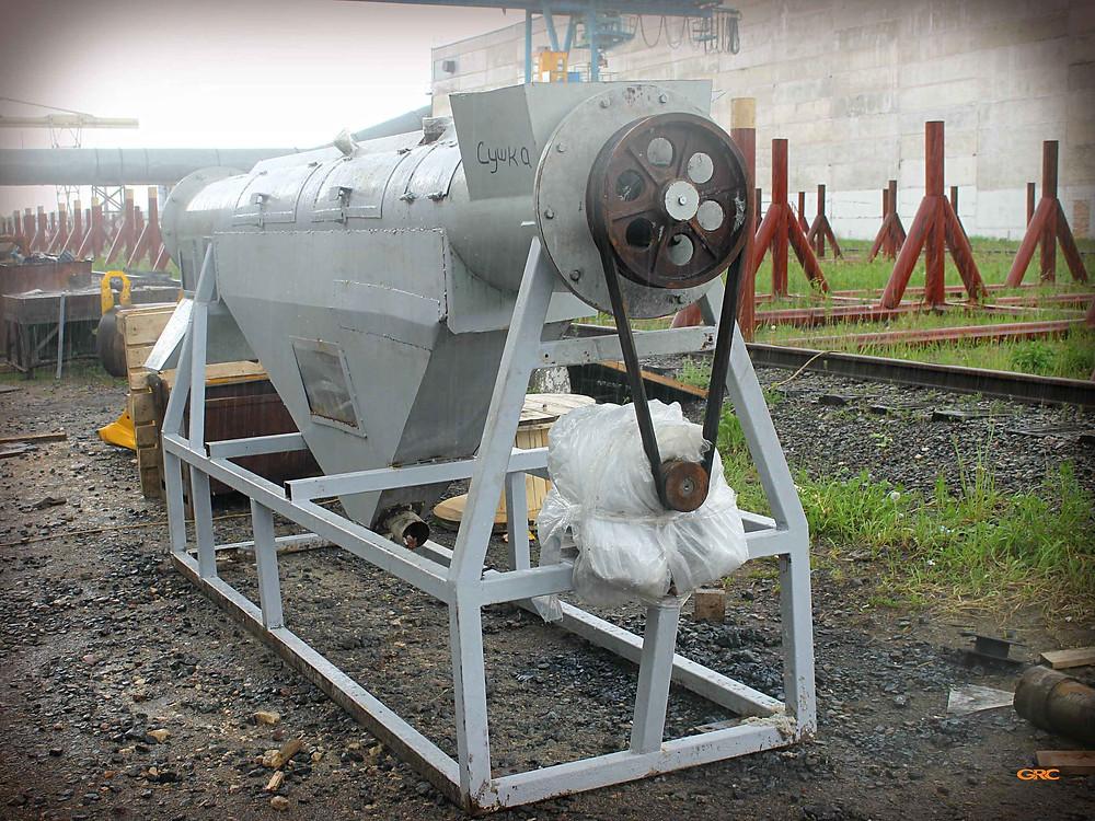 Восстановление посадочных мест шнека сушильной камеры