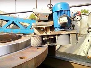 Восстановление рамы конусной дробилки Metso JP 550